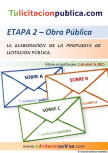 CÓMO HACER PREPARAR PARTICIPAR LICITACIÓN OBRAS PÚBLICAS ESPAÑA