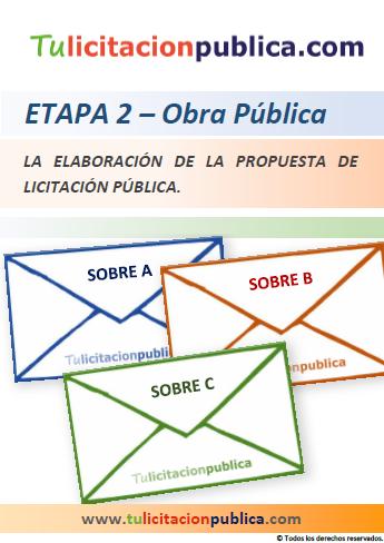 EJEMPLO DE PREPARACIÓN PARTICIPACIÓN ELABORACIÓN DOCUMENTOS LICITACIÓN OBRAS PÚBLICAS ESPAÑA, ESTUDIO LICITACIONES OBRA PÚBLICA, ELABORAR Y PRESENTAR PROPUESTA LICITACIÓN