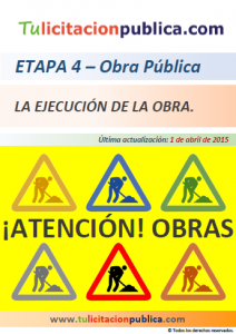 CONTRATO OBRA PÚBLICA ESPAÑA LICITACIÓN ADJUDICACIÓN OBRAS